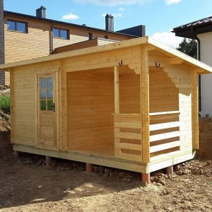 Cabin with Pent roof