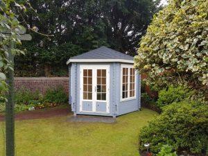 Dunipace hexagonal summerhouse