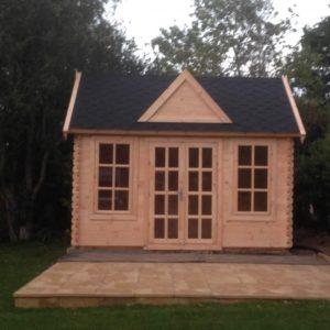 Log Cabin Letham