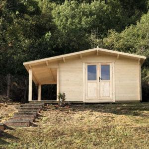 Log Cabin Claret