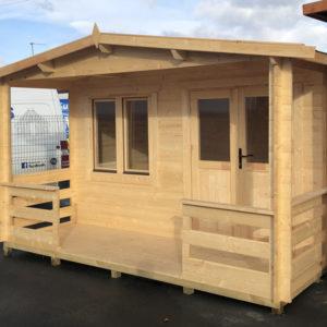 Log Cabin Hawk