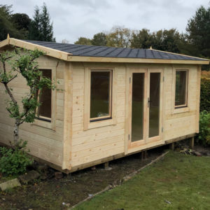Log Cabin Poolhouse 5m x 4m